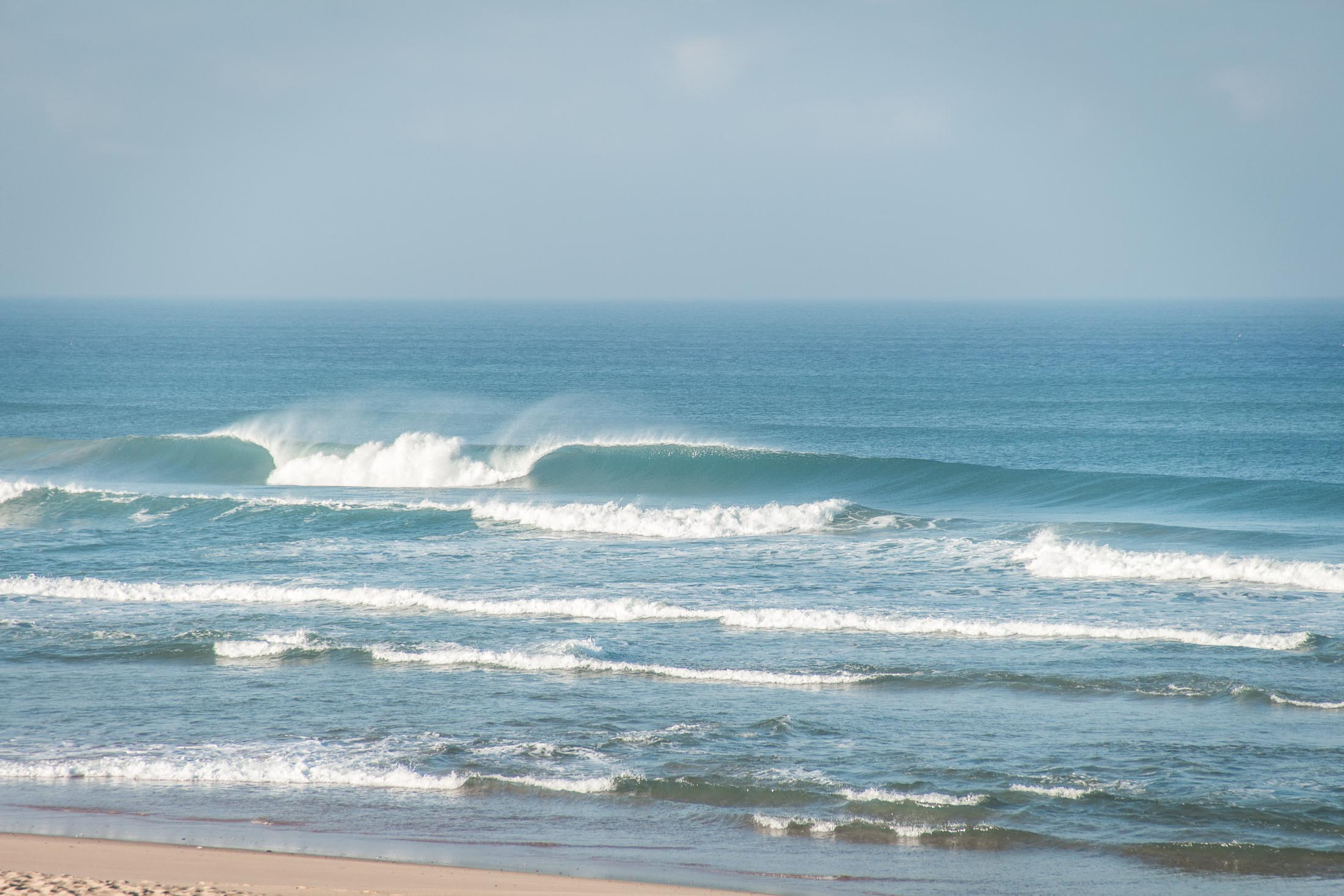 praia do areal - morning session